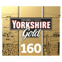 Taylors of Harrogate Yorkshire gold 160 tea bags