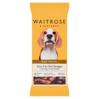 Waitrose venison and tripe sausages for dogs