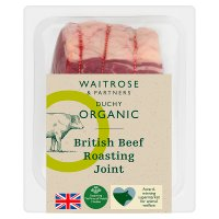 Waitrose Duchy Organic British beef roasting joint