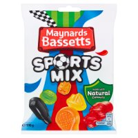 Maynards Bassetts sports mix sweets bag