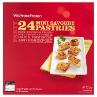 Waitrose mini savoury pastries