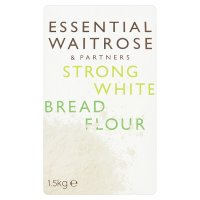 essential Waitrose strong white bread wheat flour