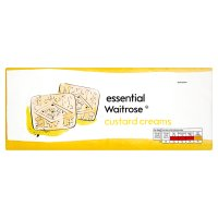 essential Waitrose custard cream biscuits