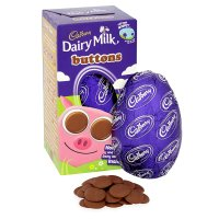Cadbury Dairy Milk Buttons Small Easter Egg 101g