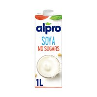Alpro longlife unsweetened wholebean soya milk