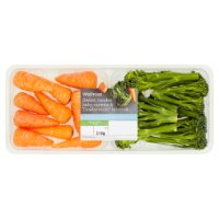 Waitrose tenderstem broccoli & chantenay carrots