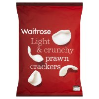 Waitrose prawn crackers made with prawns