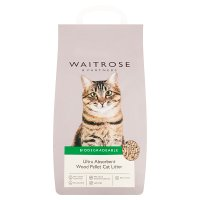 Waitrose cat litter wood pellets