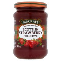 Mackays strawberry preserve