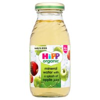 Hipp mineral water with organic apple juice