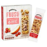 Jordans frusli bars cranberry & apple