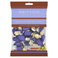 Waitrose chocolate eclairs