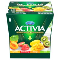Activia strawberry, mango, apricot and kiwi yogurt variety pack
