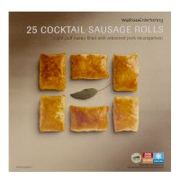 Waitrose 25 frozen cocktail sausage rolls