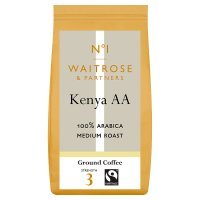 Waitrose 1 Kenya AA 100% arabica ground coffee