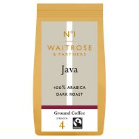 Waitrose java ground coffee