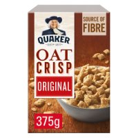 Quaker Oats oat crisp porridge cereal