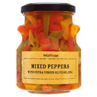 Waitrose mixed peppers