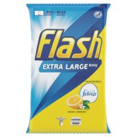 Flash Strong Weave Lemon Cleaning Wipes