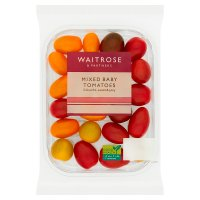 Waitrose golden cherry tomatoes