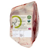 Waitrose Duchy Organic British half leg of lamb