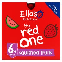 Ella's Kitchen Organic smoothie fruit the Red One baby food