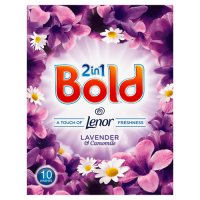 Bold 2in1 Lavender & Camomile Washing Powder 10 washes