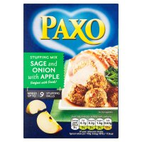 Paxo sage & onion with apple