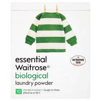 essential Waitrose biological washing powder 10 washes