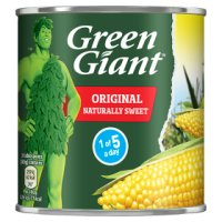 Green Giant canned sweetcorn niblets