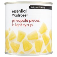 Essential Waitrose Pineapple Pieces (in light syrup)