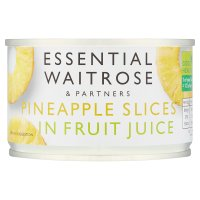 Essential Waitrose Pineapple Slices (in fruit juice)