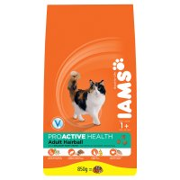 Iams adult 1+ hairball roast chicken