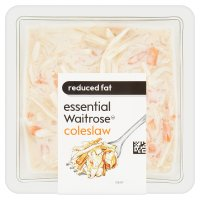 essential Waitrose reduced fat coleslaw