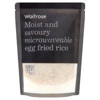 Waitrose microwave egg fried rice