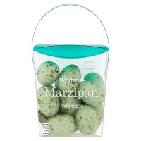 Waitrose marzipan mini eggs