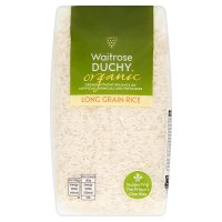 Waitrose Duchy Organic rice long grain