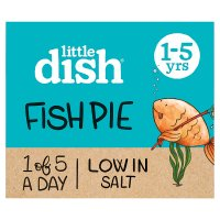 Little Dish 1 yr+ Fish Pie with Salmon and Pollock