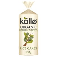 Kallo original organic wholegrain rice cakes