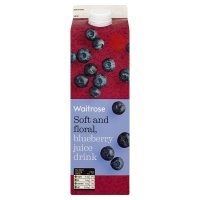 Waitrose blueberry juice drink