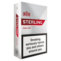 Sterling king size cigarettes