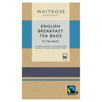 Waitrose English Breakfast - 50 bags