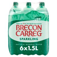 Brecon Carreg mineral sparkling water