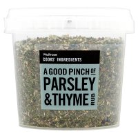 Waitrose Cooks' Ingredients parsley & thyme rub