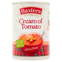 Baxters Favourites cream of tomato soup