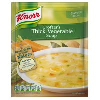 Knorr thick vegetable dry soup