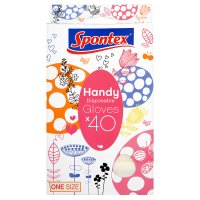 Spontex Handy disposable gloves