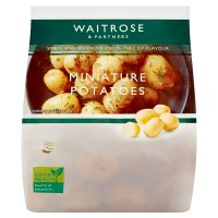 Waitrose miniature new potatoes