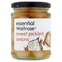 essential Waitrose sweet pickled onions