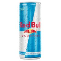 Red Bull sugarfree energy drink